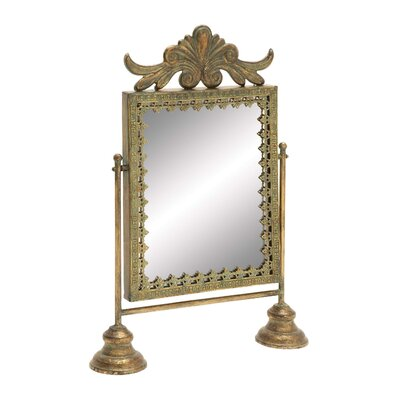 Woodland Imports Unique Metal Mirror