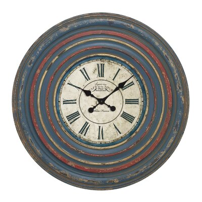 Circular Wall Clock with Roman Numeral