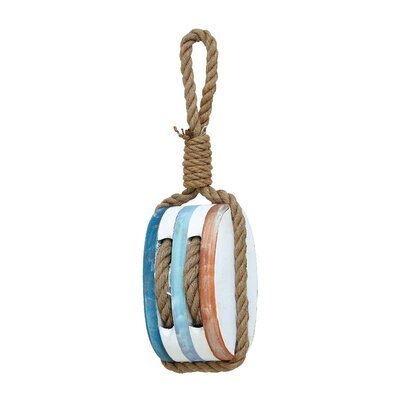 Woodland Imports Wood Rope Nautical Décor
