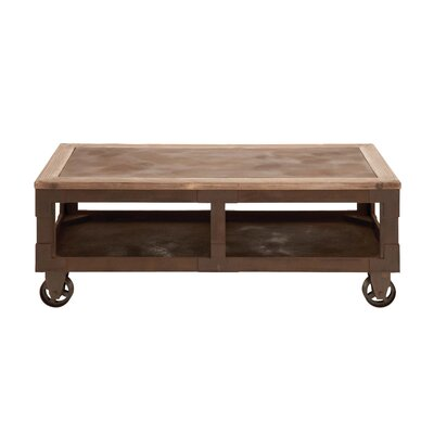 Woodland Imports Classic Elaborate Coffee Table