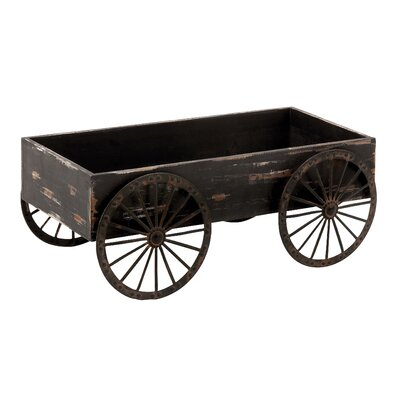 Woodland Imports Wood Decor Cart