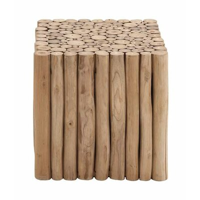Square Shaped New Wooden Klaten Stool