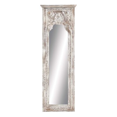 Rectangular Wooden Wall Mirror