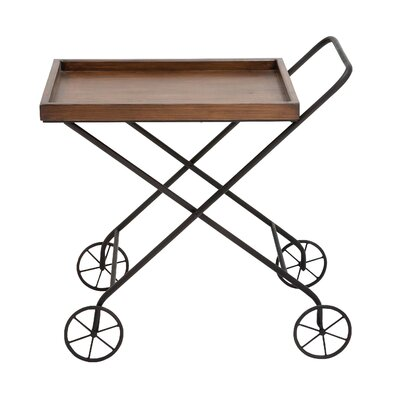 Woodland Imports Tea Serving Cart