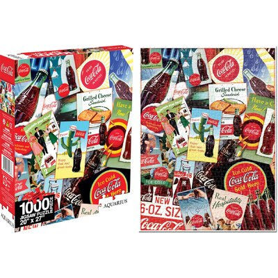 Aquarius Coca - Cola Collage Jigsaw Puzzle