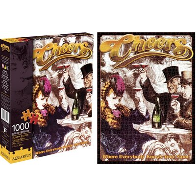 Aquarius Cheers 30th Anniversary 1000 Piece Jigsaw Puzzle