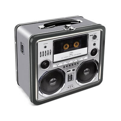 Aquarius Boombox Lunch Box