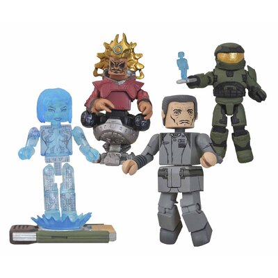 Diamond Selects Halo Series 4 Minimates Box Set
