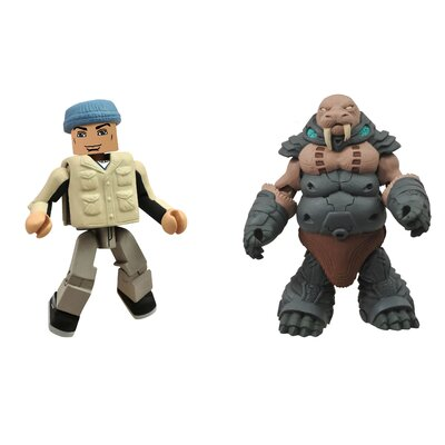 Diamond Selects Battle Beasts Minimates Series 1: Gruntos and Tate (Set of 2)
