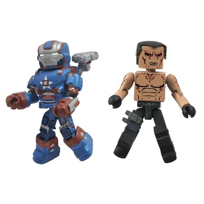 Diamond Selects Marvel Minimates Series 49: Iron Patriot and Extremis Soldier (Set of 2)