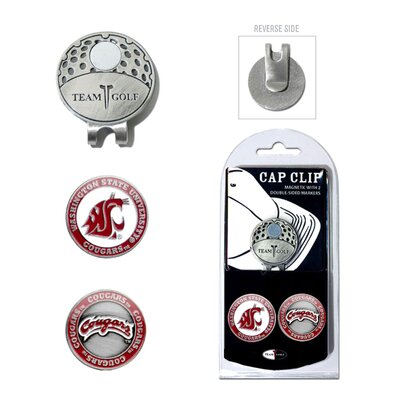 Team Golf NCAA Two Marker Cap Clip