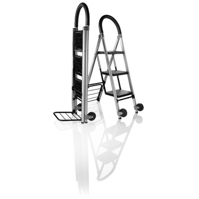 Travel Smart by Conair CTS 3 StepLadder and Hand Cart