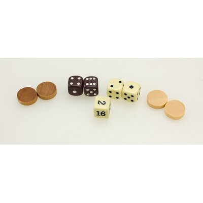 Sunnywood Wooden Backgammon Set