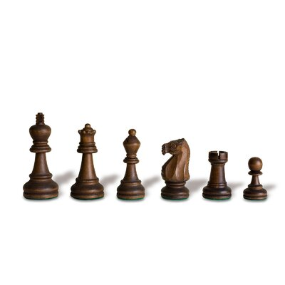 Sunnywood Double Weight Wood Chessmen