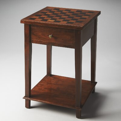 Butler Loft Arthur Solid Wood Checkers Table