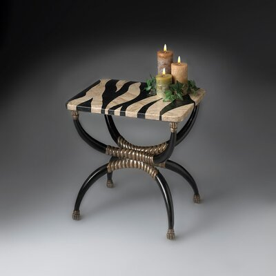 Butler Heritage Zebra End Table