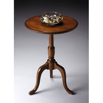 Butler Old World Cherry Round End Table