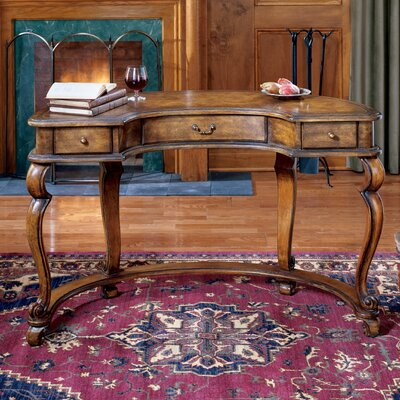 Butler Heritage Crescent - Shape Writing Desk