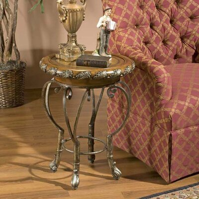Heritage Metal End Table