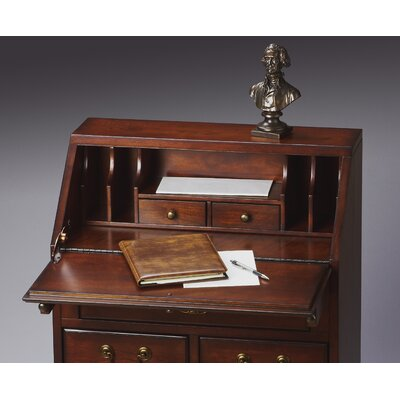 "Butler Plantation Cherry 38"" Secretary"