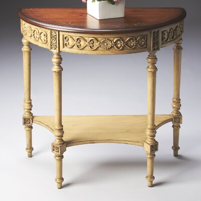 Artist's Originals Demilune Console Table