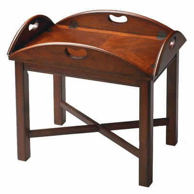Vintage Mahogany Oversized Butler 39 S Tray Coffee Table