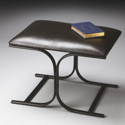 Butler Metalworks Leather Bench