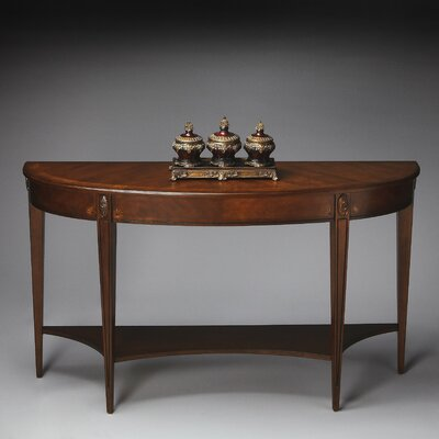Masterpiece Demilune Console Table