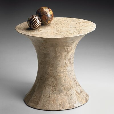 Heritage Pedestal End Table
