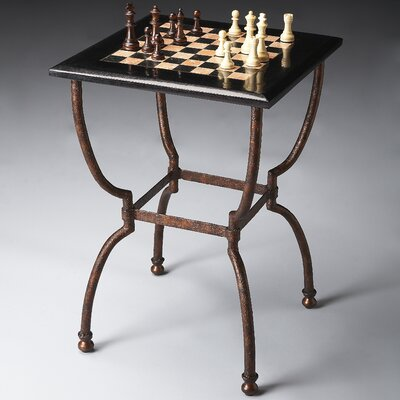Metalworks Chess Table