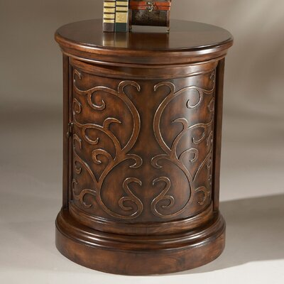 Heritage Drum End Table