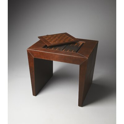 Loft Bradford Leather Game Table