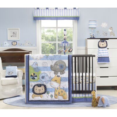 Jungle Doodle Crib Bedding Collection
