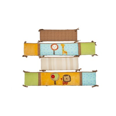 Kids Line Safari Dream 4 Piece Bumper Set