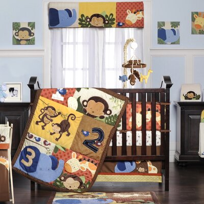 Kids Line Jungle 123 Crib Bedding Collection