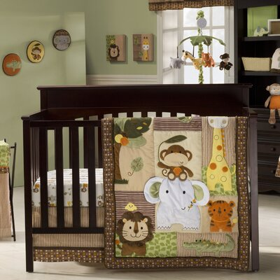 Jungle Walk Crib Bedding Collection