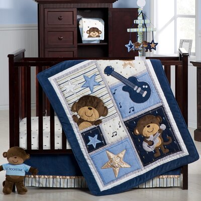 Kids Line's Monkey Rockstar Collection | Wayfair
