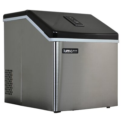 IM200SS Stainless Steel Portable Clear Ice Maker
