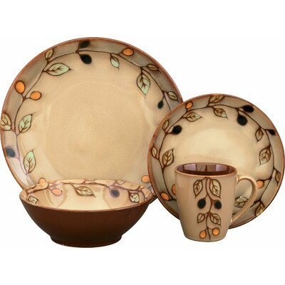 Sango Vineyard 16 Piece Dinnerware Set