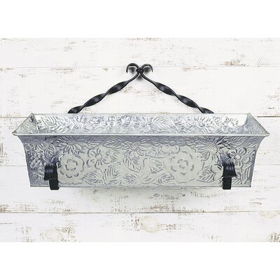 ACHLA Embossed Flower Box