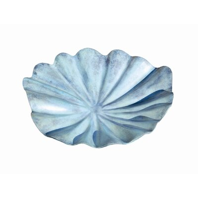 ACHLA Large Lily Leaf Birdbath