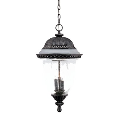 Acclaim Lighting Venice 3 Light Outdoor Hanging Lantern