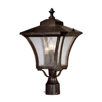 Acclaim Lighting Tuscan 3 Light Outdoor Post Lantern