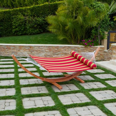 Cantina Wood Arc Hammock with Stand