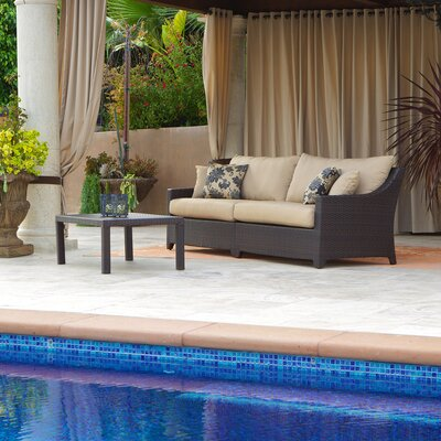 RST Outdoor Delano 3 Piece Deep Seating Group with Cushions