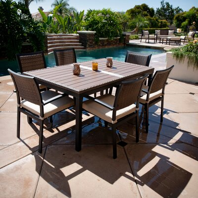 RST Outdoor Zen 7 Piece Dining Set