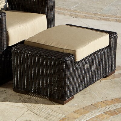 RST Outdoor Resort Ottoman with Cushion