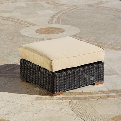 RST Outdoor Resort Oversized Ottoman with Cushion