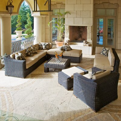 RST Outdoor Resort 10 Piece Deep Seating Group with Cushions