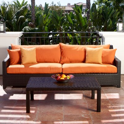 RST Outdoor Tikka 3 Piece Deep Seating Group with Cushions